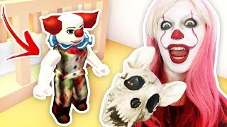 Would you ADOPT an EVIL IT CLOWN? 🤡 Roblox Social Experiment