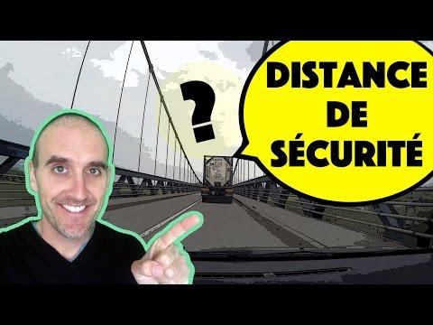 Comment garder une bonne distance de sécurité ?