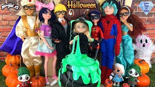 Ladybug Halloween Party TRICK OR TREAT Halloween Costumes Date Miraculous Season 2 Doll Episode