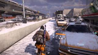 Tom Clancy's The Division Баг с выходом за карту