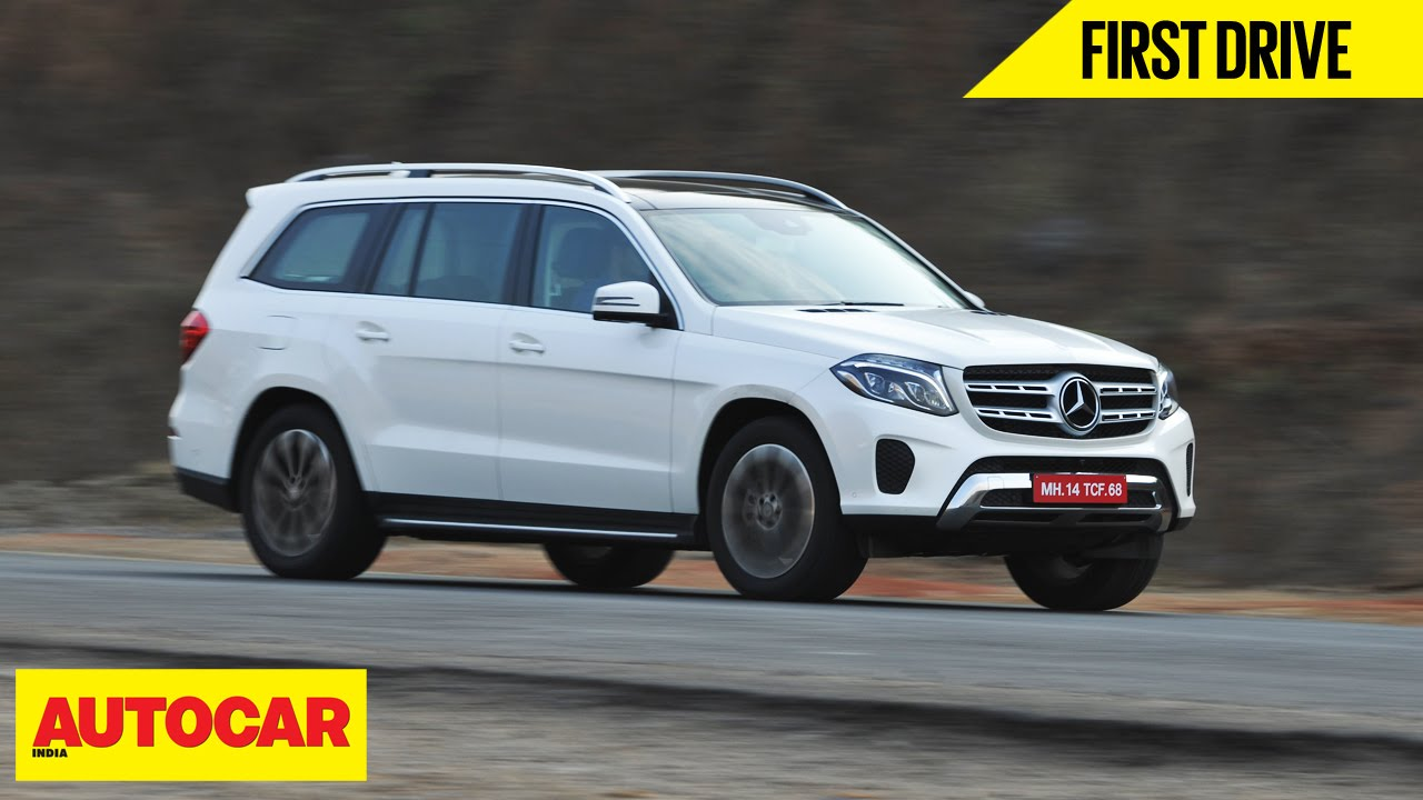 Mercedes GLS 350d First Drive Autocar India YouTube