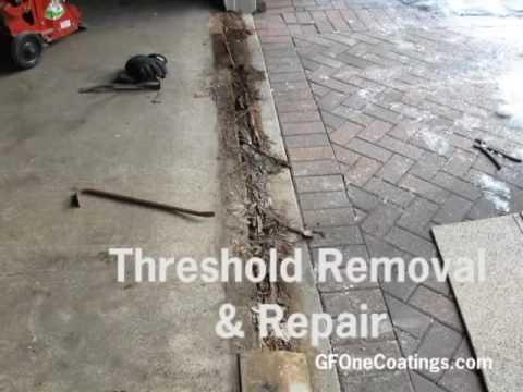 GF ONE COATINGS   Spancrete Garage Floor Repair And Polyaspartic Flooring  Installation
