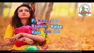 O SAHIBAA O SAAHIBAA hindi karaoke for feMale singers with lyrics (ORIGINAL TRACK)