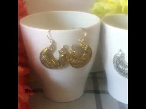 Chand Bali silver earring in uk