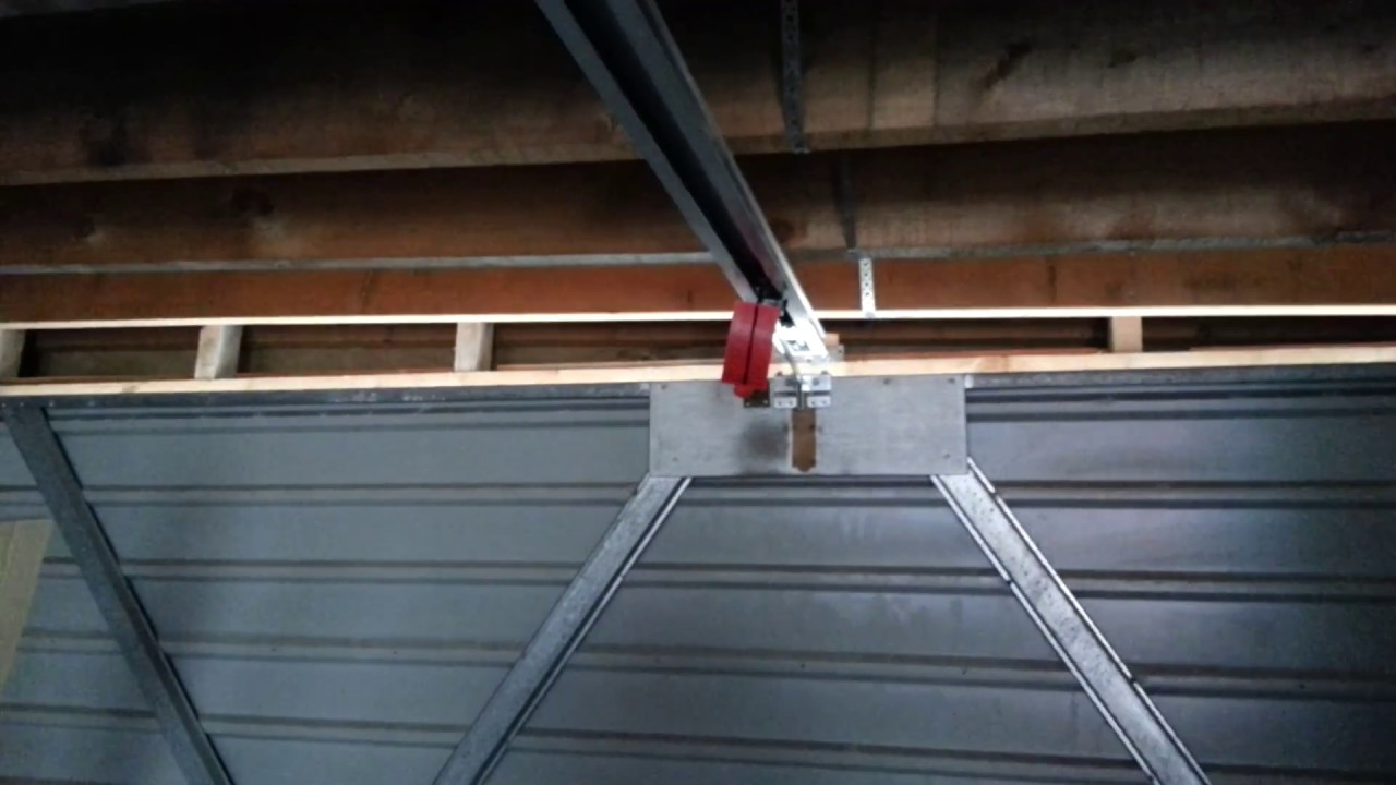 Hrmann Supramatic Garage Door Opener Youtube