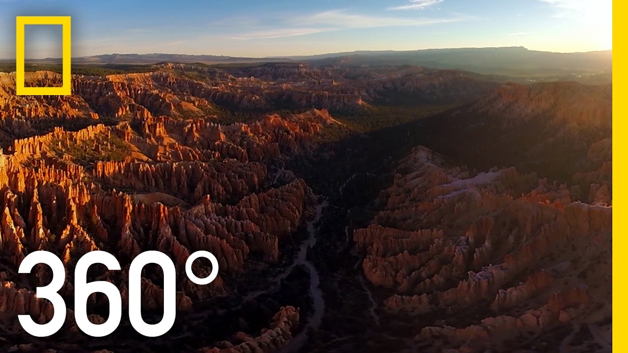 360 bryce canyon national geographic youtube for Cabine vicino a bryce canyon