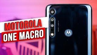 Обзор Новинки / Motorola One Macro