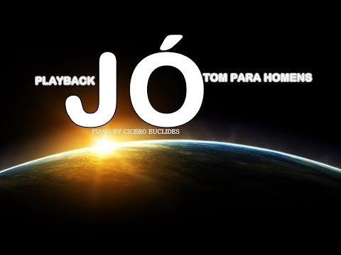 Jó (Midian Lima) Playback- Tom Para Homens - Piano by Cicero Euclides
