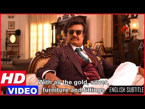 Lingaa Tamil Movie Scenes HD | Rajinikanth gives away all his property | Sonakshi
