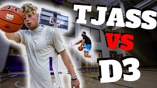 Tristan Jass VS Division 3 College Hooper CRAZY LAYUPS !