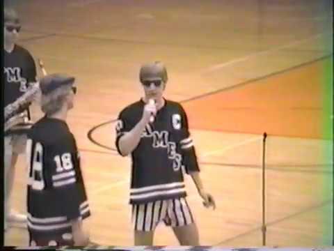 Ames High School Hockey State Tourney Shuffle 1986