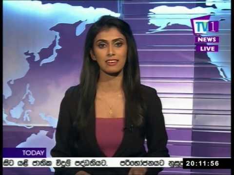 @Tv1NewsLK Prime Time News Sinhala TV1 8pm 02nd August 2017