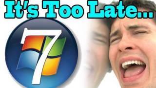 """""""Too Late, Windows 7""""  - OneRepublic feat. Timbaland - """"Apologize"""" Parody"""