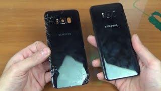 Как заменить заднюю крышку (стекло) на Samsung Galaxy S8+ s10 с AliExpress