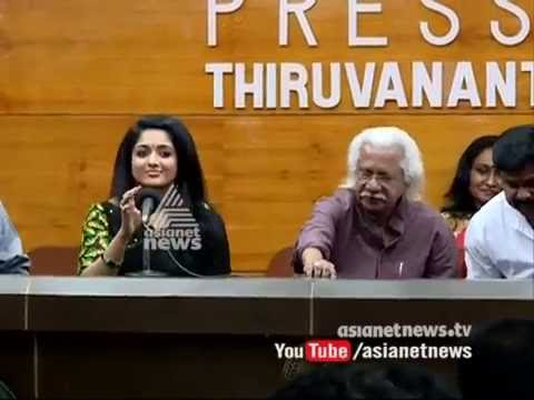 Adoor Gopalakrishnan with crew members during the promotion of his latest film Pinneyum