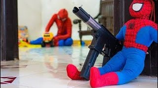 Akční Střílečka Film - Superhero Pavouk Vs Superhero Hrdina - Speciální Úkol # 192