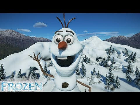Planet Coaster - Olaf's Frozen Coaster (Frozen - Disney)  
