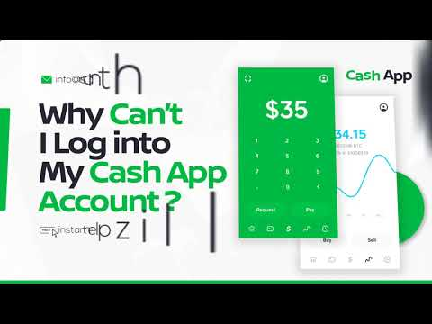 Why Can't I log into my Cash App account?