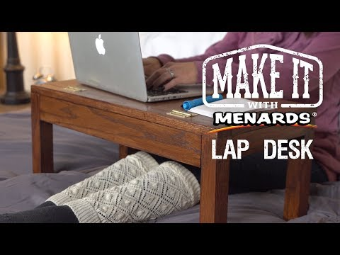 Lap Desk - Make It With Menard...