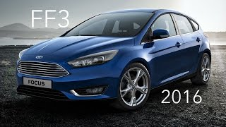 Ford Focus 3 (2016 Рестайлинг) 1.5 Turbo тест драйв Форд Фокус