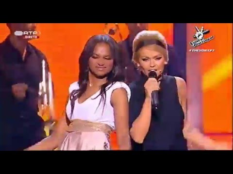 "Equipa Aurea (Patrícia e Soraia) – ""Knock on wood""  - 2ª Gala - The Voice Portugal 