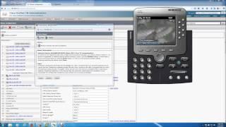 Cisco CUCM Adding, Modifying Phone Button Template and Creating DNs
