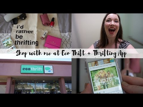 Shop with me at Eco Thrift & Thrifting App!