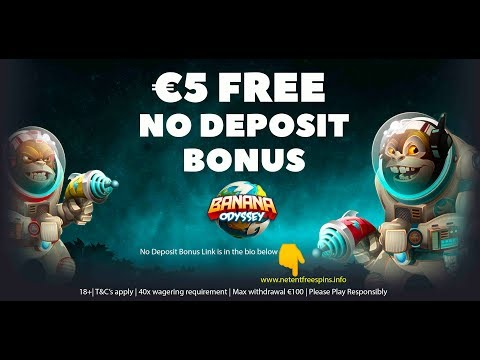 Banana Odyssey Slot Game Play + Get A €5 FREE NO DEPOSIT BONUS To Try It