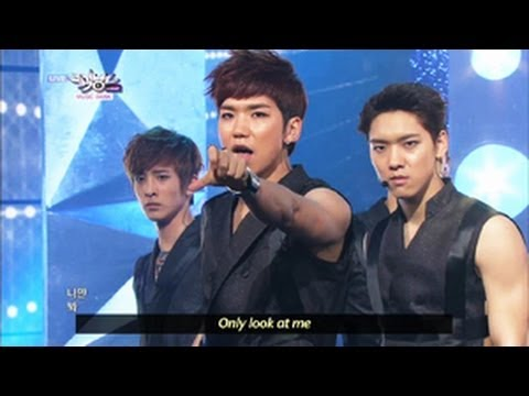 100% - Want U Back (2013.06.08) [Music Bank W/ Eng Lyrics]