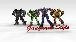 Repeat youtube video Transformers Gangnam Style Parody -  Oppa Autobot Style 3d Animation~cooldude5757