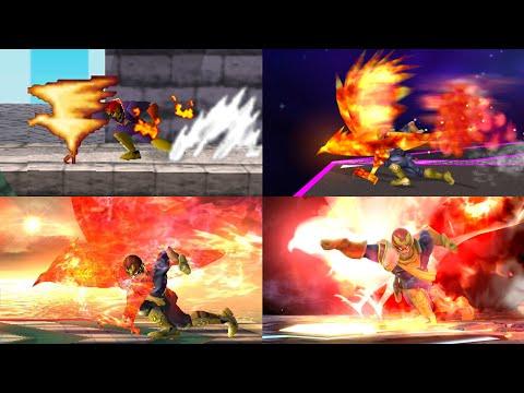 Evolution Of Special Moves In Super Smash Bros.