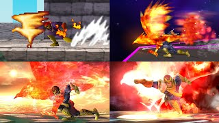Evolution of Special Moves in Super Smash Bros.