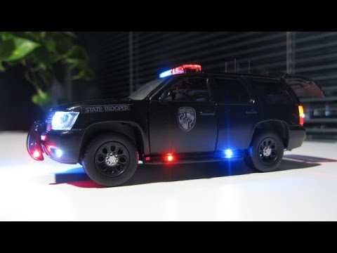 5 Custom 1 32 Scale Minneapolis Police Cars With Strobe