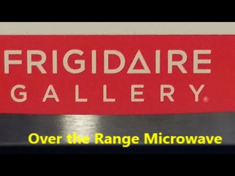 over the range microwave hook up
