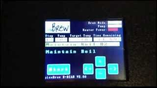 picoBrew Electric Brew in a Bag HomeBrew System time lapse fast