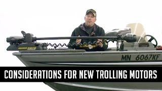 Tips for Installing MinnKota trolling motors