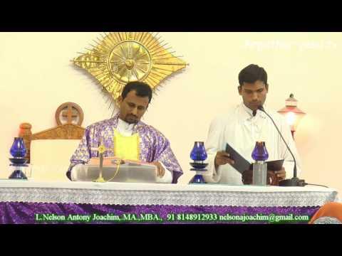 Divine Life Ministries Mass by Rev.Fr.David Retreat 19/3/17 Muthamizh Nagar, Kodungaiyur, Chennai