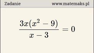 Matura próbna - znajdź liczbę rozwiązań równania