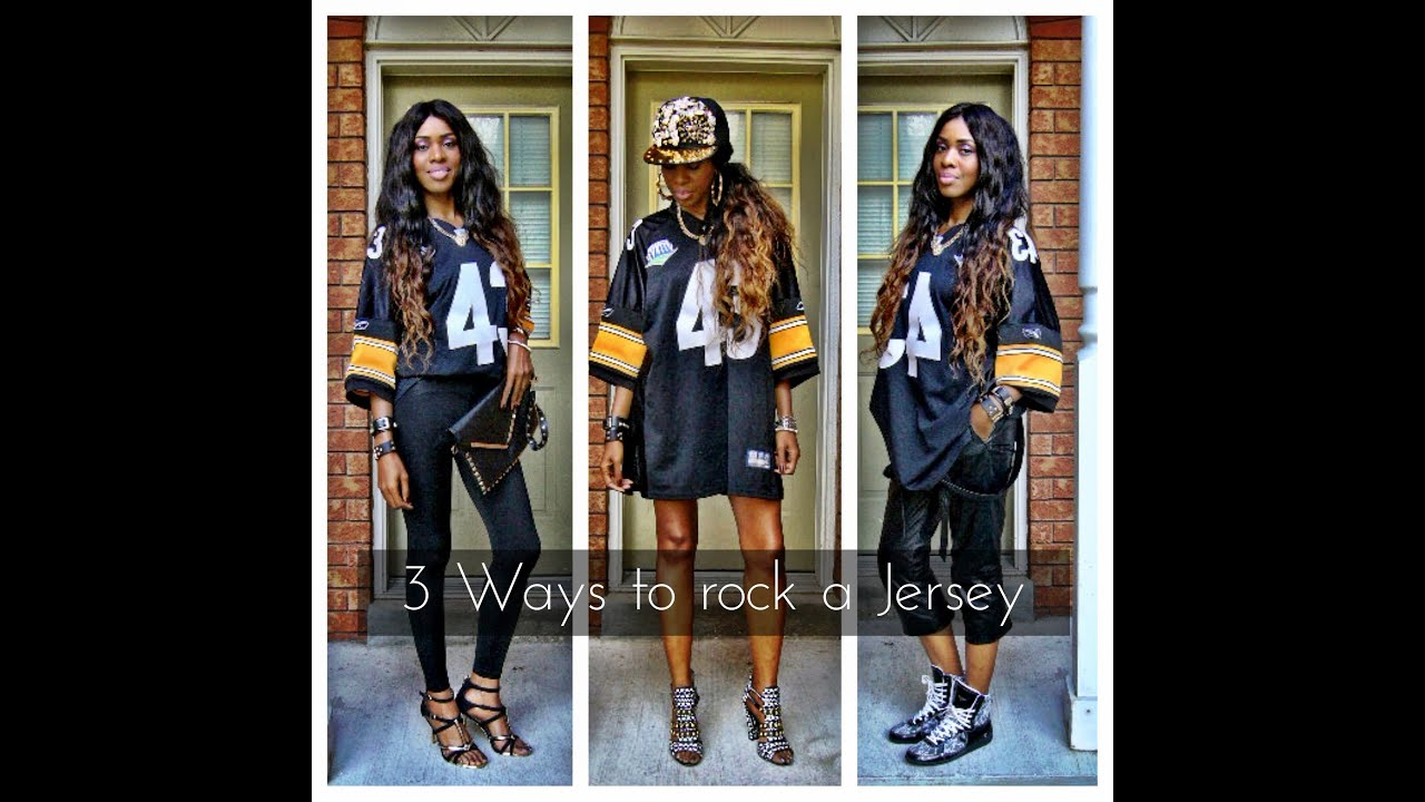 timeless design bcf37 c7dc8 Pittsburgh Steelers... How to wear a Jersey
