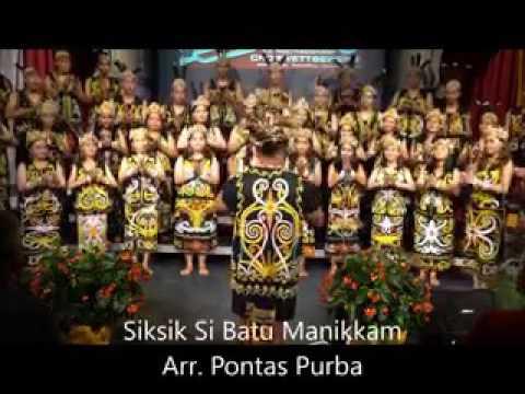 Siksik sibatu manikam - Choir lagu versi koor yang di arransemen dengan bagus dan dibawakan dengan b