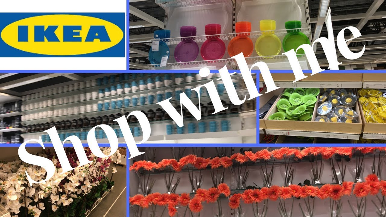 Shop with me at ikea shopping haul ikea tour 2018 for Stores like ikea in hawaii