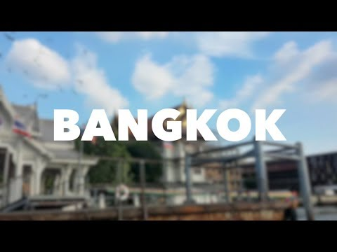 Travel VLOG and GUIDE (1): BANGKOK, THAILAND (Full Guide, Naik Public Transportation)