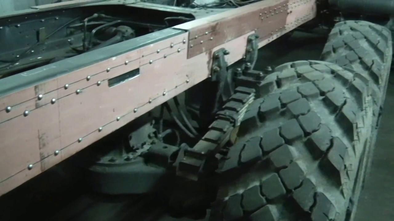 Кабина КАМАЗ 53212 , ХАКИ - YouTube