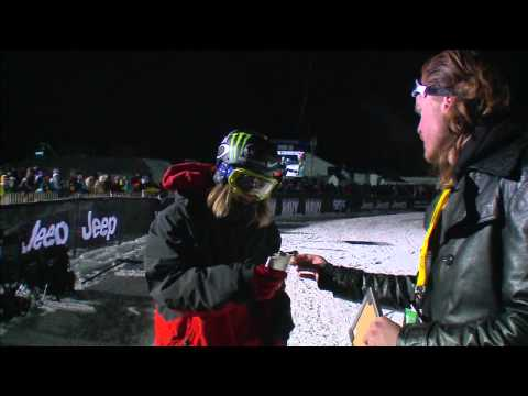 Winter X Games Aspen 2012: Haldor Helgason Big Air Flask