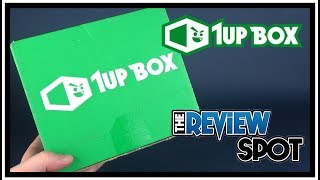 Subscription Spot   1UP Box December 2017 UNBOXING!