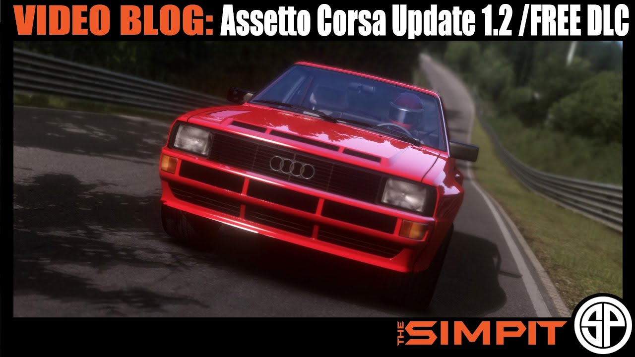 video blog assetto corsa update 1 2 and free dlc by the. Black Bedroom Furniture Sets. Home Design Ideas