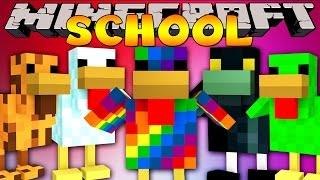 Minecraft School : COOLEST CHICKENS IN MINECRAFT!