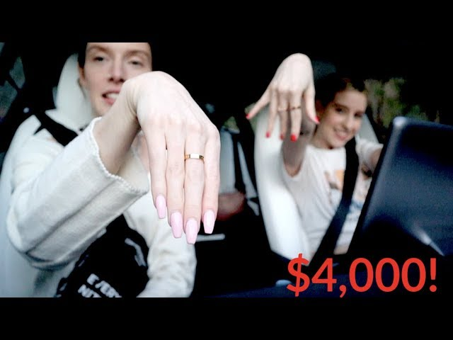 BUYING OUR FIRST EXPENSIVE DESIGNER RINGS!!