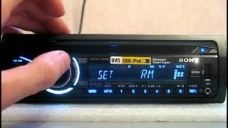 Видеообзор автомагнитолы Sony MEX-DV160UE