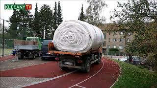 Stavba přetlakové haly - bez komentáře (20. 10. 2020)